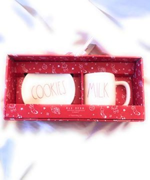 Rae Dunn Artisan Collection Cookies And Milk Melamine Plate And Tumbler Set 0 300x360