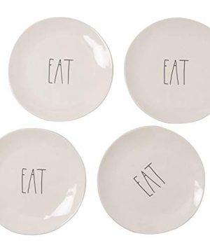 Rae Dunn Dinner Plates Set Of 4 11 Eat 0 300x360