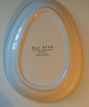 Rae Dunn EASTER HOP Small Plate Server By Magenta 0 0 300x360