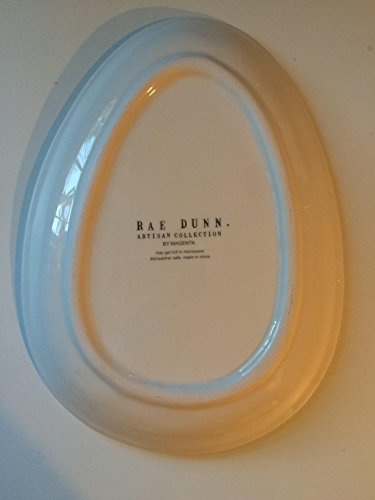 Rae Dunn EASTER HOP Small Plate Server By Magenta 0 0