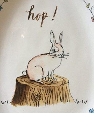 Rae Dunn EASTER HOP Small Plate Server By Magenta 0 1 300x360