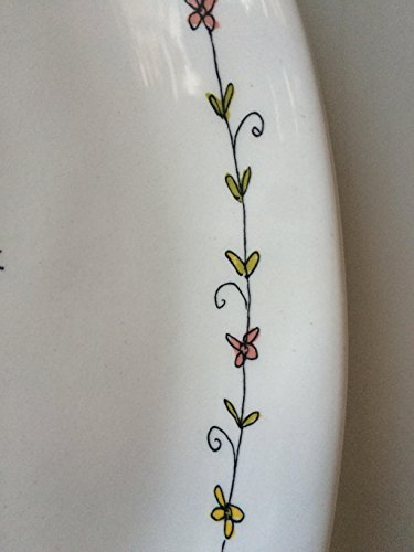 Rae Dunn EASTER HOP Small Plate Server By Magenta 0 3