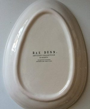 Rae Dunn EASTER HOP Small Plate Server By Magenta 0 5 300x360