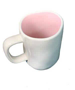 Rae Dunn HOP TO IT Mug Pink Interior Ceramic EASTER Very Rare 0 1 300x360