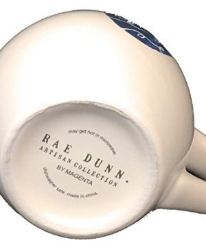 Rae Dunn Holiday Collection Happy Easter Egg Mug Black Interior Coffee Cup Artisian Magenta 0 1 300x360