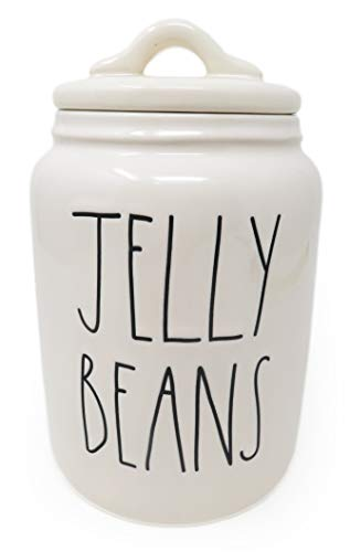 Rae Dunn JELLY BEANS Baby Canister Baby Size 2020 Limited Edition Ceramic Very Rare 0