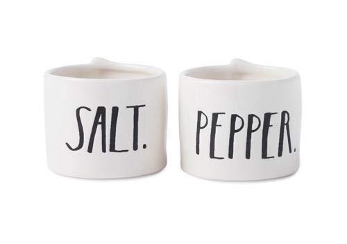 Rae Dunn Stem Print Salt And Pepper Cellars 0
