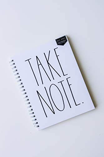 Rae Dunn TAKE NOTE Large Notebook 0
