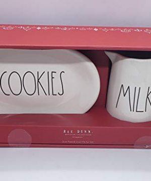 Rae Dunn By Magenta MILK Cup COOKIES Plate 0 300x360