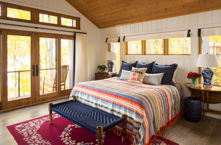 Retreat Master Bedroom by KOR Interior Design