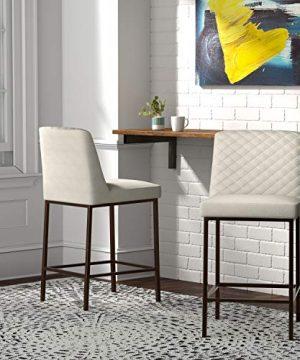 Rivet Vermont Modern Barstool 38H Chalk 0 4 300x360