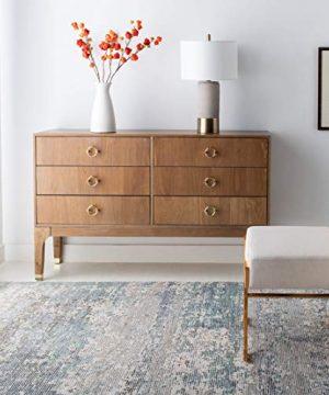 Safavieh Couture Home Lorna Rustic Oak 6 Drawer Dresser 0 300x360