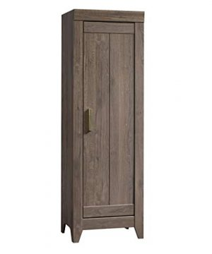 Sauder Adept Storage Narrow Storage Cabinet Fossil Oak Finish 0 300x360