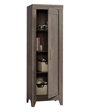 Sauder Adept Storage Narrow Storage Cabinet Fossil Oak Finish 0 4 300x360