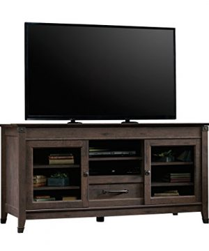 Sauder Carson Forge Entertainment Credenza For TVs Up To 60 Coffee Oak Finish 0 0 300x360