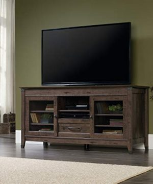 Sauder Carson Forge Entertainment Credenza For TVs Up To 60 Coffee Oak Finish 0 1 300x360