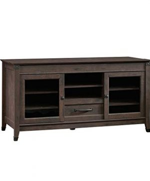 Sauder Carson Forge Entertainment Credenza For TVs Up To 60 Coffee Oak Finish 0 300x360
