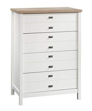Sauder Cottage Road 4 Drawer Chest Soft White Finish 0 300x360