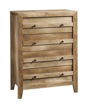 Sauder Dakota Pass 4 Drawer Chest Craftsman Oak Finish 0 300x360