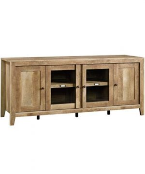 Sauder Dakota Pass Credenza For TVs Up To 70 Craftsman Oak Finish 0 300x360