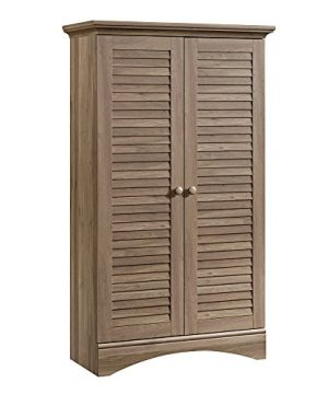 Sauder Harbor View Storage Cabinet Salt Oak Finish 0 300x360