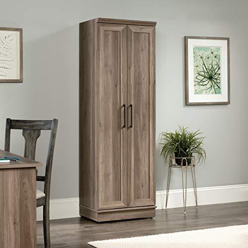 Sauder Home Plus Storage Cabinet Salt Oak Finish 0 1