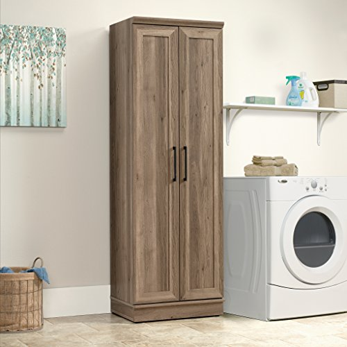 Sauder Home Plus Storage Cabinet Salt Oak Finish 0 2