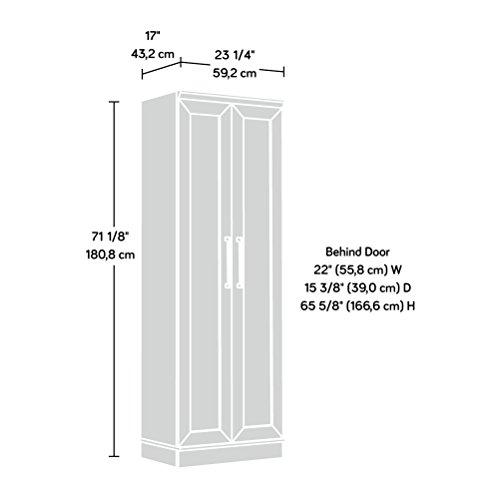Sauder Home Plus Storage Cabinet Salt Oak Finish 0 3