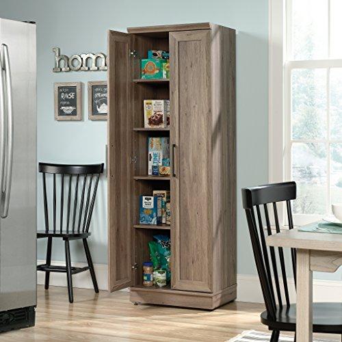 Sauder Home Plus Storage Cabinet Salt Oak Finish 0 4