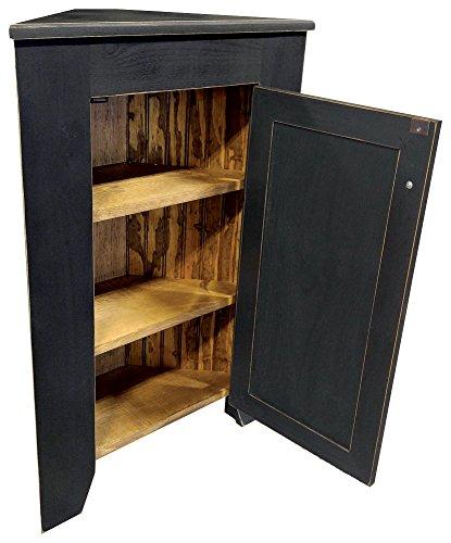 Sawdust City Corner Cabinet Old Williamsburg Blue 0 1
