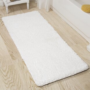 Shag+Rectangular+Polyester+Non-Slip+Solid+Bath+Rug
