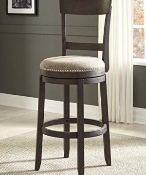 Signature Design By Ashley Drewing Bar Stools Bar Height Open Back Set Of 2 Brown 0 0 300x360