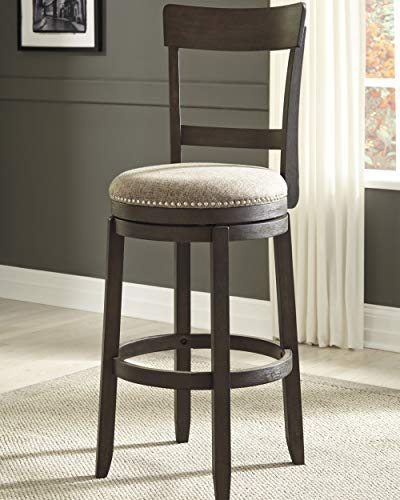 Signature Design By Ashley Drewing Bar Stools Bar Height Open Back Set Of 2 Brown 0 0