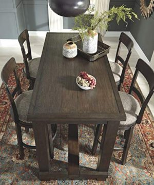 Signature Design By Ashley Drewing Bar Stools Bar Height Open Back Set Of 2 Brown 0 1 300x360