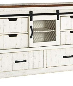 Signature Design By Ashley Wystfield Dresser WhiteBrown 0 300x354