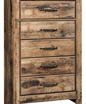 Signature Design By Ashley B224 46 Blaneville Chest Of Drawers Brown 0 300x360