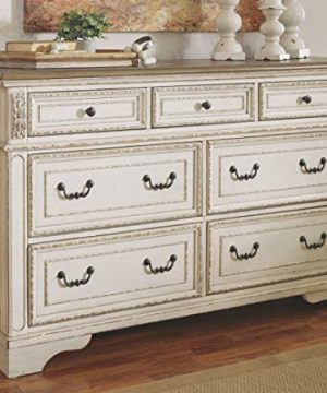 Signature Design By Ashley B743 31 Realyn Dresser Chipped White 0 0 300x360