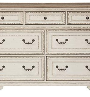 Signature Design By Ashley B743 31 Realyn Dresser Chipped White 0 1 300x324