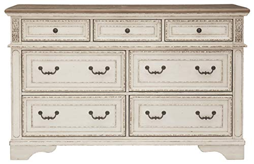 Signature Design By Ashley B743 31 Realyn Dresser Chipped White 0 1