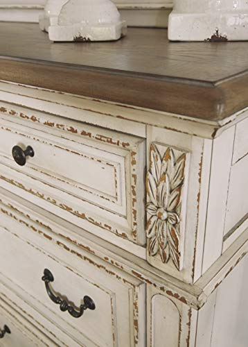 Signature Design By Ashley B743 31 Realyn Dresser Chipped White 0 3