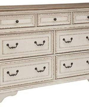 Signature Design By Ashley B743 31 Realyn Dresser Chipped White 0 300x360