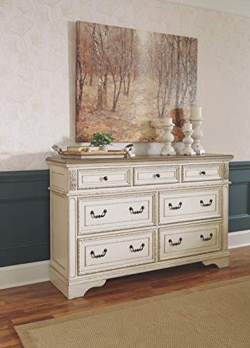 Signature Design By Ashley B743 31 Realyn Dresser Chipped White 0 4
