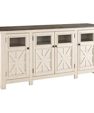 Signature Design By Ashley Bolanburg Extra Large TV Stand Two Tone 0 300x360