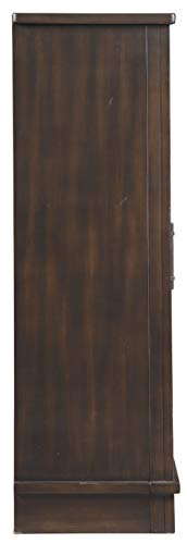 Signature Design By Ashley Bronfield Accent Cabinet Sliding Door Brown 0 3