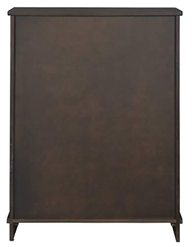 Signature Design By Ashley Bronfield Accent Cabinet Sliding Door Brown 0 4
