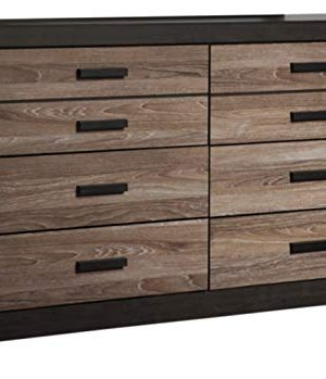 Signature Design By Ashley Harlinton Dresser Warm GrayCharcoal 0 300x349