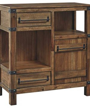 Signature Design By Ashley Roybeck Wooden Accent Cabinet Brown 0 300x360