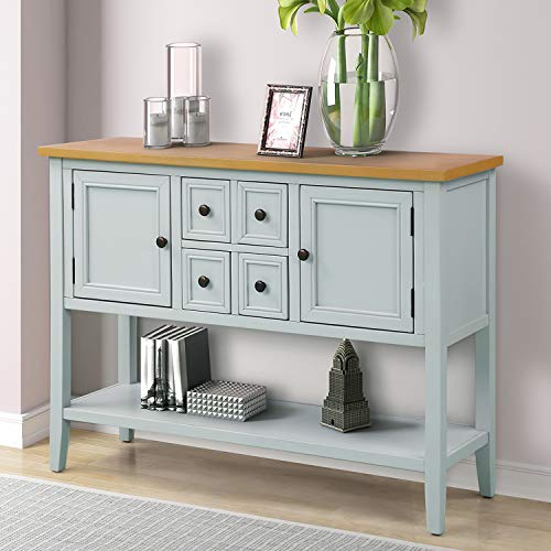 Purlove Console Table Buffet Sideboard