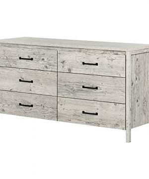 South Shore Gravity 6 Drawer Double Dresser Seaside Pine 0 300x360