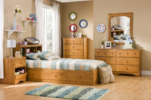 South Shore Little Treasures 6 Drawer Double Dresser Country Pine 0 1